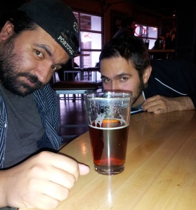 E-Rock, left, has uncovered all the beers worth sneaking up on this week.