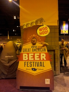 Stoutmeister may not put himself in the picture very often, but he could not resist at GABF.