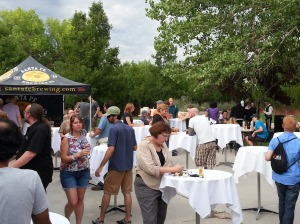 Competing with Nob Hill Summerfest surely was tough, but beer lovers still found time to indulge in Beer Premier.