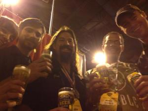 The brewing team from Marble posted this awesome shot from GABF after taking home two medals.