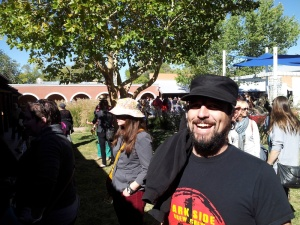 Brandon, and just about everybody else, was smiling throughout Brew Fest. Or maybe that was just the barley wines talking.