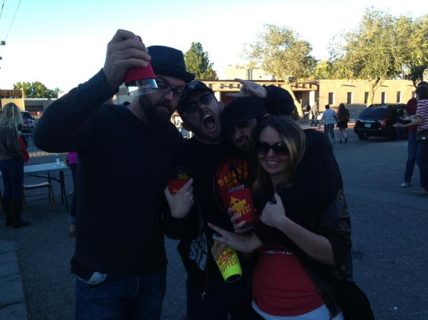 There were many shenanigans afoot for all of us at the NM Brew Fest.