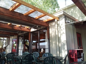 Second Street's patio is the closest you will get to a German beer garden in New Mexico. Coincidentally, it's German Beer Month at Second Street in August.