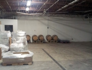 Now that La Cumbre has expanded into the space on the north side of the building, there will be a lot more space for storing and aging beers like these.