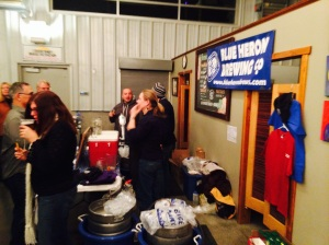 Blue Heron's La Llorona Scottish Ale was popular among the crowd at WinterBrew.