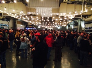 WinterBrew does get crowded, but pace yourself and you will get all the beer you need.