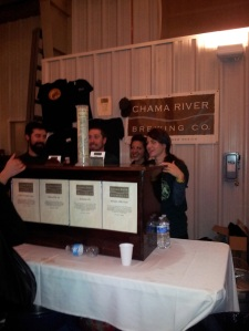 Chama River sent plenty of happy employees to WinterBrew last year to serve us all.