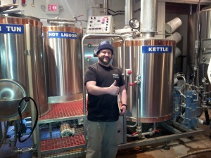New head brewer Zach Guilmette is gung-ho to run the show at Chama River.