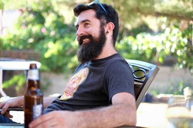 Tim Woodward has made himself at home as TMBC's head brewer.