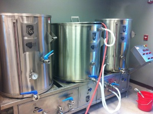 The Los Alamos Beer Co-op will use Bosque's old brewing system, which they purchased earlier this year.