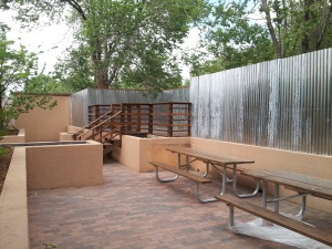 Seriously, how can you not relax on a patio like this one?