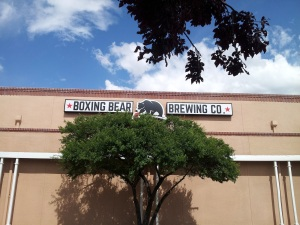 We have a feeling Boxing Bear will become another regular haunt for us on the west side.