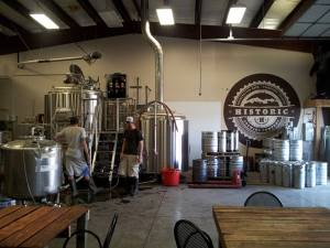 Historic is a relatively new brewery but already producing a quality product.