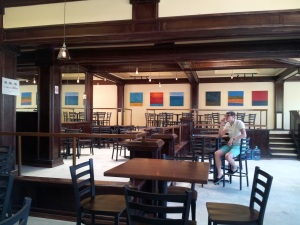 The staff did a great job of turning crummy old Elliott's Bar into a shiny taproom.