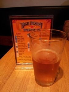 A lot of labor went into beers around the state like this Bohemian Pilsner at High Desert.