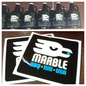 The new Marble logo is ... different.