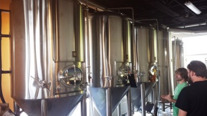 Ponderosa's fermenters are already filling up with beer.