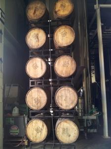 So many beautiful barrels aging so many wonderful beers at SFBC.
