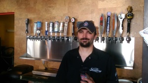 Brandon Venaglia is taking over as the brewer at Back Alley Draft House.