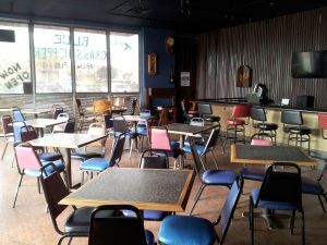 Blue Grasshopper will have plenty of space for customers during their grand opening this weekend.