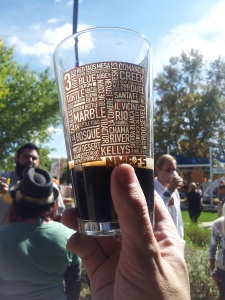 St. Bob's Imperial Stout '07, the best of the Brew Fest 2014.