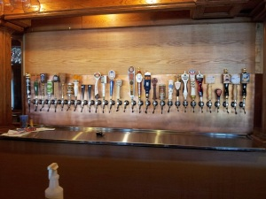 Thirty taps of beer goodness.