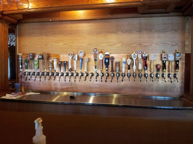 The battle of tap space at bars and restaurants is taking a new turn for local breweries.