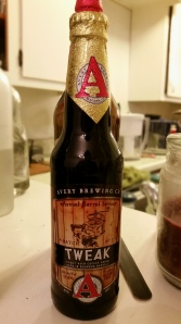 Not for the timid: No, really.  Tweak from Avery Brewing is likely to assault you with flavors.