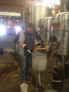 Half of brewing is cleaning, as we all know.