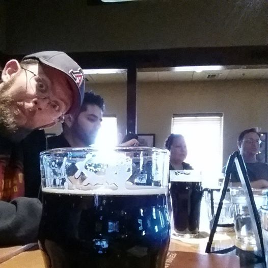 And when the brew day is done, grab a pint, but beware Stoutmeister photo bombs.