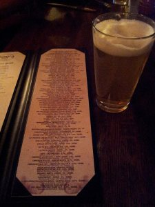 A pint of Andechser Helles is a good start at Heimat House. Just don't get lost in that bottled beer list.