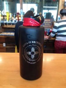 This nifty little growler makes for a great gift.
