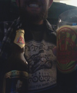 In case anyone missed it before, Stoutmeister rather enjoyed the Czar as his final beer on International Stout Day. And yes, he's wearing an old-school Pantera Snakebite Stout shirt.