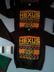 Nexus' ugly sweaters were quite the hit in 2014. We just posted this photo of them again because seriously, who would wear this in public?!