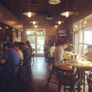 Bosque's Las Cruces taproom is open and already filled with thirsty patrons. (Photo courtesy of Bosque)