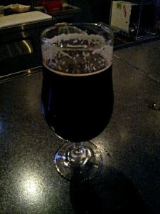 Blue Corn's Russian Imperial Stout was delightful for being such a big monster.