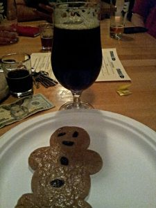 We're not sure if Luke got a cookie with his first pint of Marble Reserve, but we can hope.