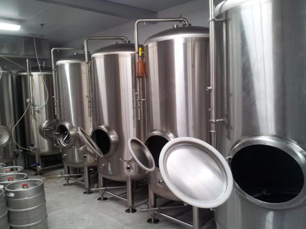 The new serving tanks are nearly ready for use.