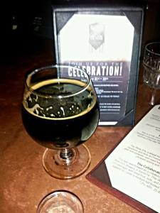 The De-cen-ni-ale Russian Imperial Stout was a delight.