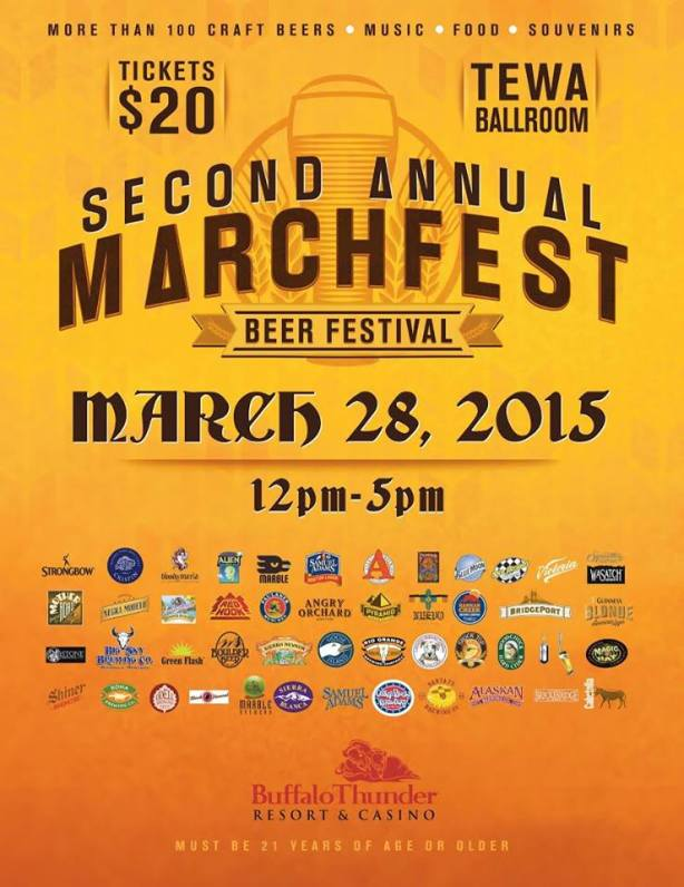 No, really, they're having another beer festival in Santa Fe without telling anyone in ABQ.