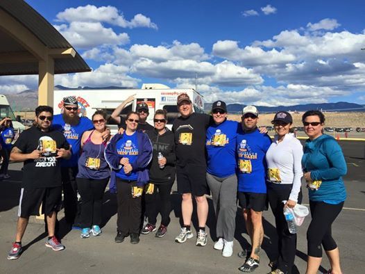 The Crew and our assorted friends all survived the first ABQ Brew Dash.