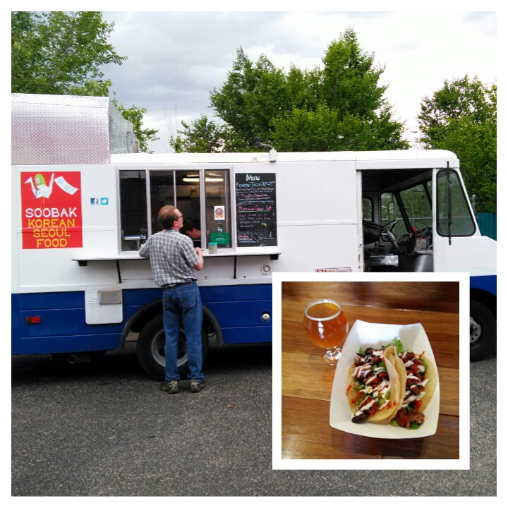 Food and beer goes together brilliantly sometimes. Red Door's food truck battle was one outstanding example.