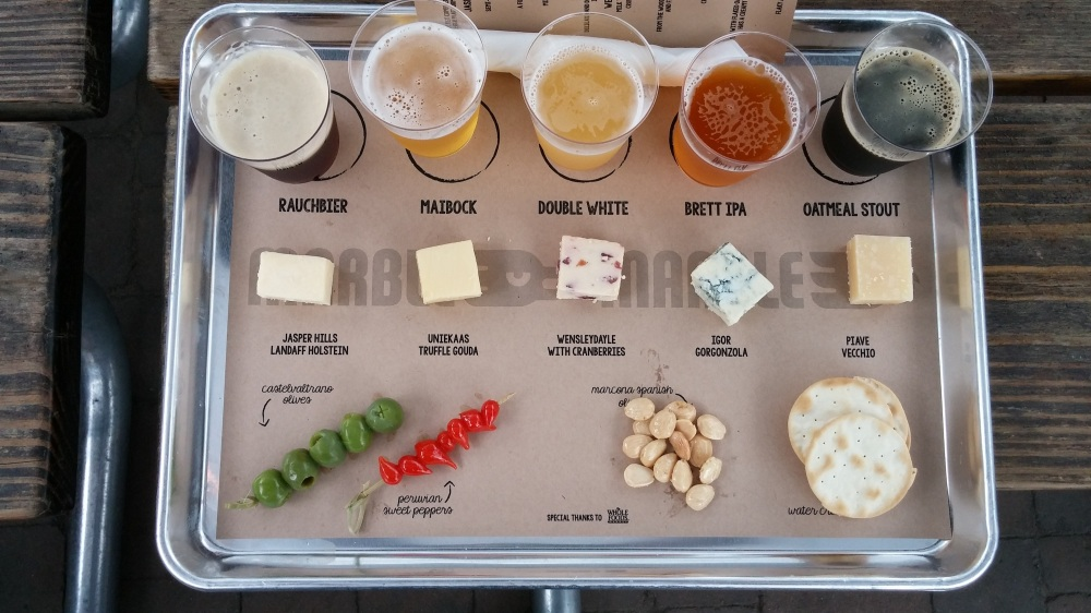 Beer, Cheese, & More at Marble was a tremendous success. It was so nice, they did it twice.