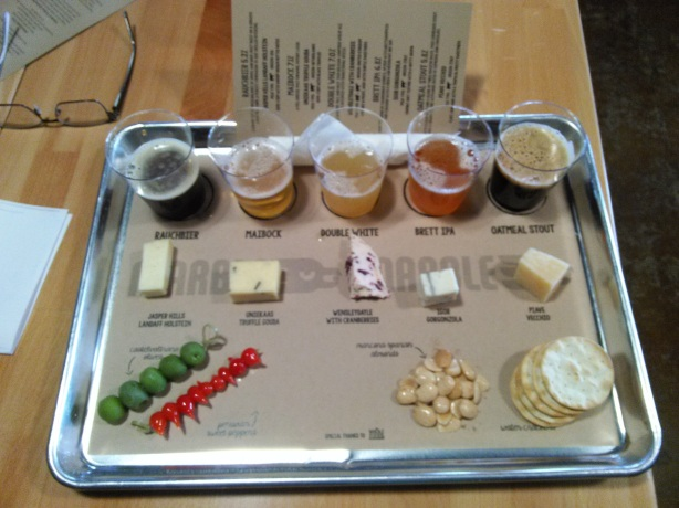 All the goodness on one tray.