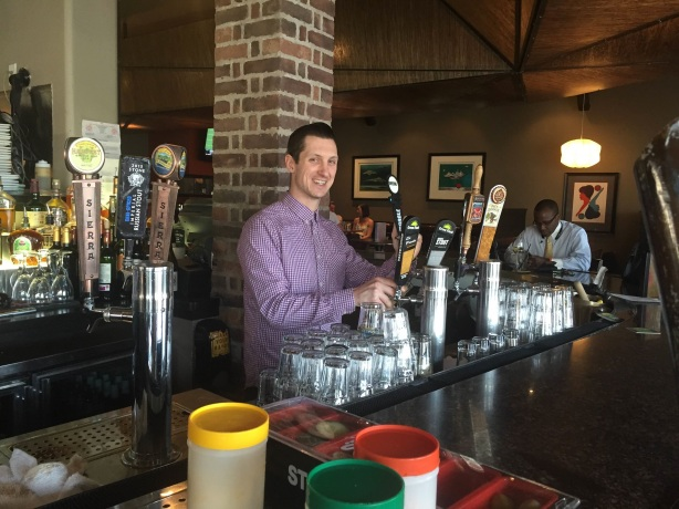 While he won't be pouring beers at Nob Hill Bar & Grill anymore, friend of the Crew Thomas DeCaro will still be promoting craft beer.