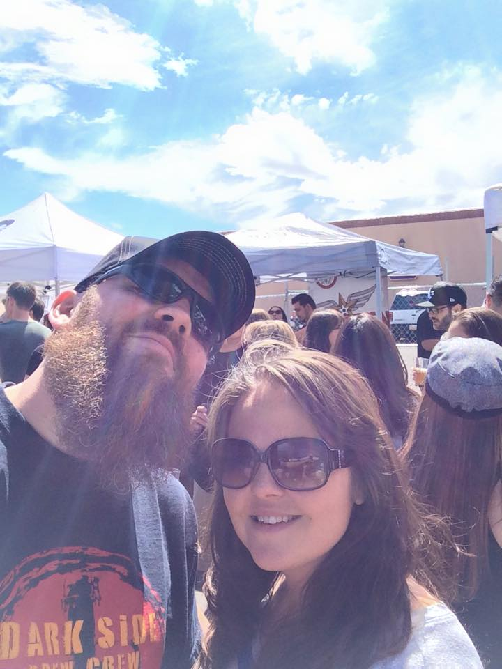Franz and Mrs. Solo basked in the warm glow of the inaugural BearFest.