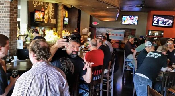 Nob Hill Bar & Grill was one of our favorite spots throughout Beer Week. Our friend Karim agreed, twas quite metal.