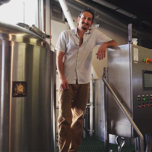 Andrew Krocshe has made the jump from Marble to Ponderosa as the latter's new brewer. (Photo courtesy of Ponderosa)