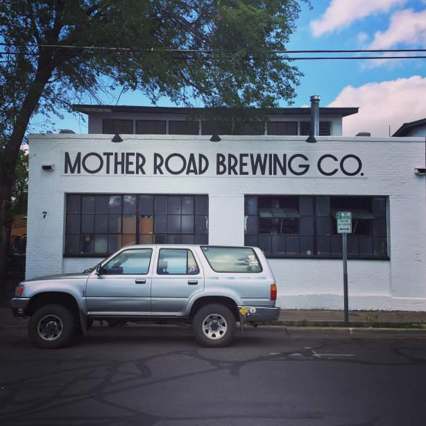 Mother Road Brewing exterior in Flagstaff