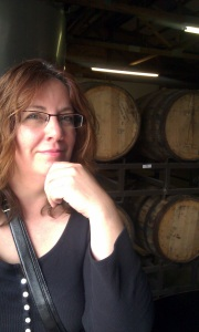 We asked Laura to steal one of those barrels, but she politely declined.